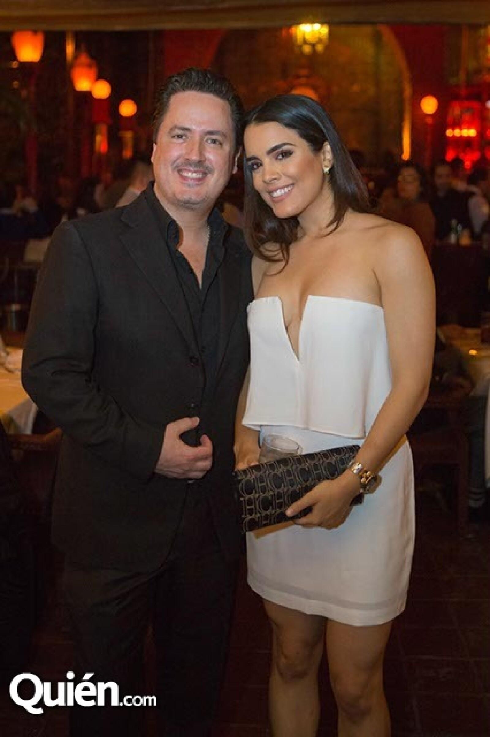 Ricardo Barroso y Gabriela Pablos