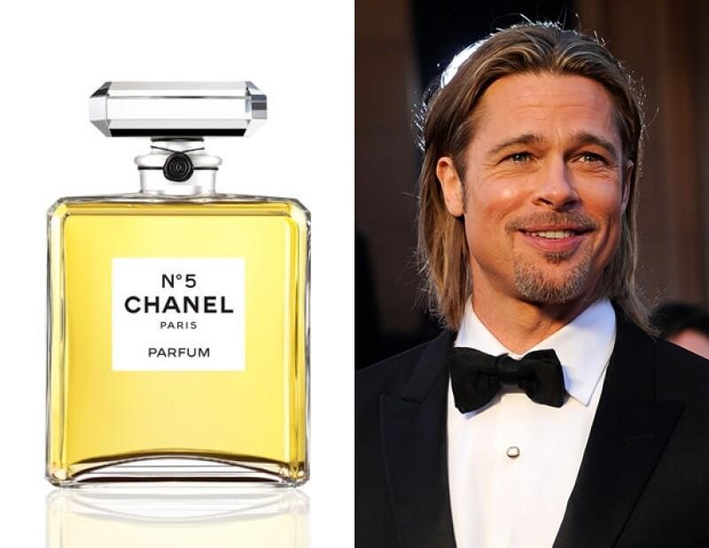 El actor será el primer hombre en ser imagen de un perfume de mujer, y Chanel creó un sitio web especial para celebrarlo.