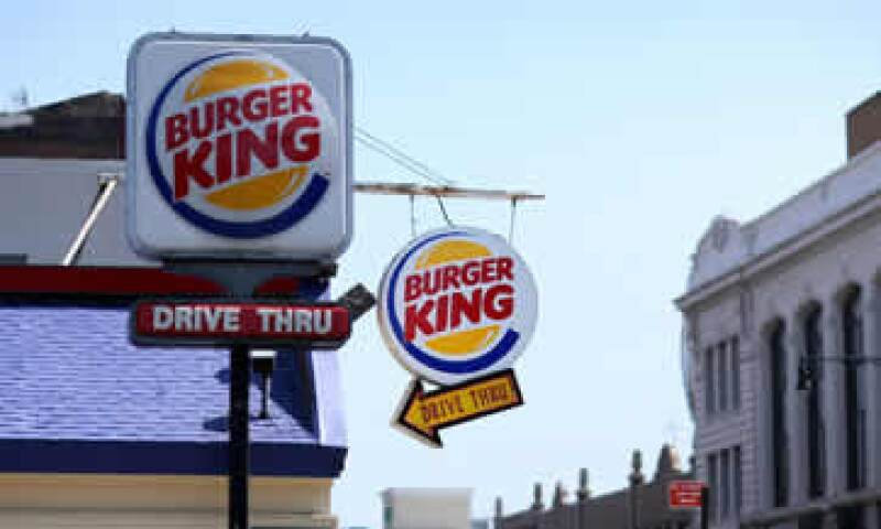 Burger King es la tercera mayor cadena de hamburguesas de EU. (Foto: Getty Images)