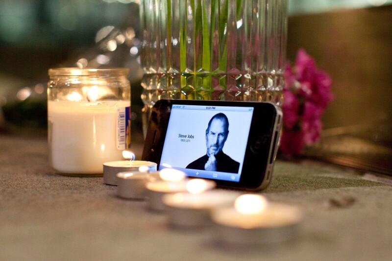 Steve Jobs murió el 5 de octubre de 2011 en Palo Alto, California.