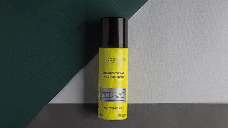Desodorante en Spray Cedrat de L'Occitane