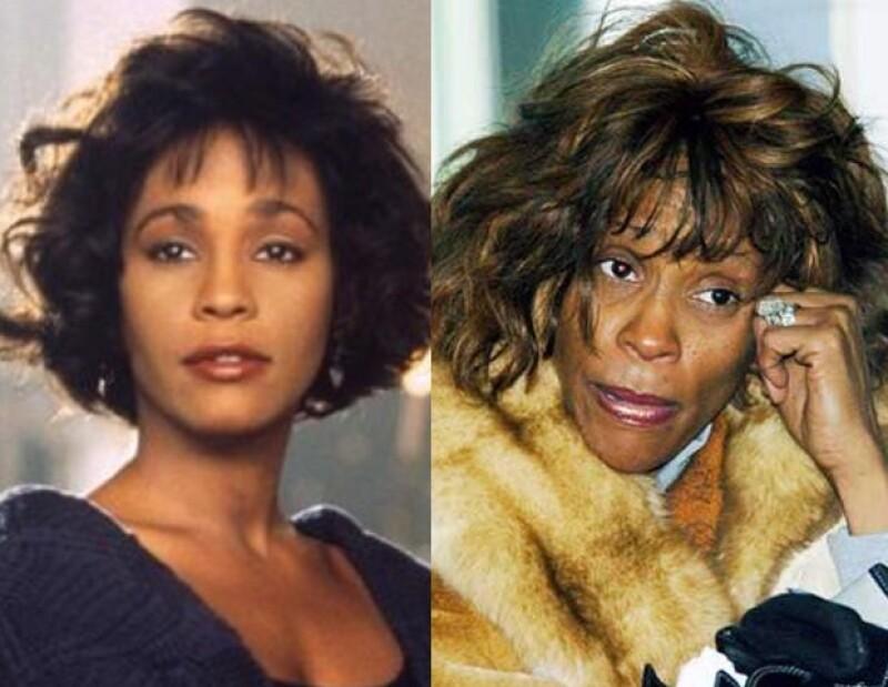 Diversas estrellas del espectáculo perdieron su voz, su fama y hasta la vida por su adicción a las drogas: Whitney Houston, Amy Winehouse, entre muchos otros.