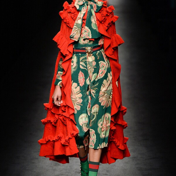 Gucci show, Runway, Autumn Winter 2016, Milan Fashion Week, Italy - 24 Feb 2016