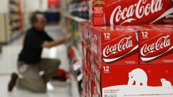 Coca-Cola registra una ganancia de 0.83% en Wall Street.  (Foto: AP)