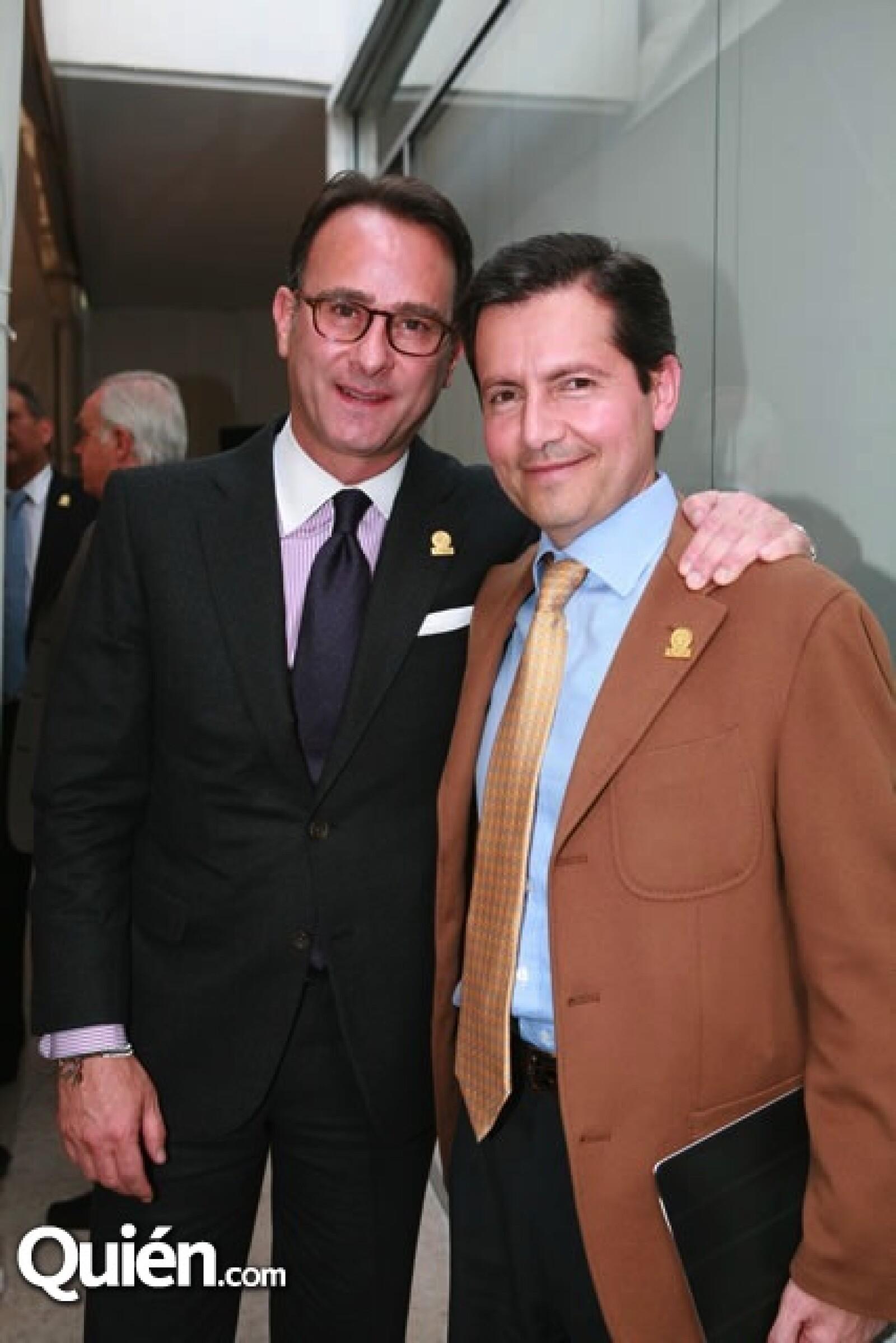Marco Beteta y Federico Fernández Quiroz