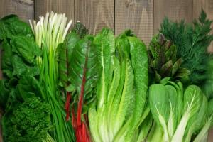Verduras frondosas