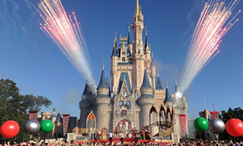 Las ventas de Disney crecieron 12,470 mdd en el periodo. (Foto: Getty Images)