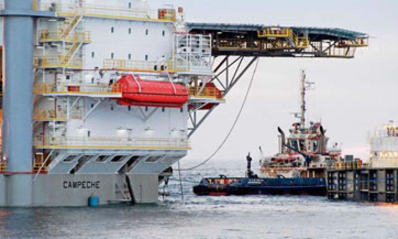 La plataforma Campeche empezó a operar en 2014 en la costa de Ciudad del Carmen. (Foto: Especial)