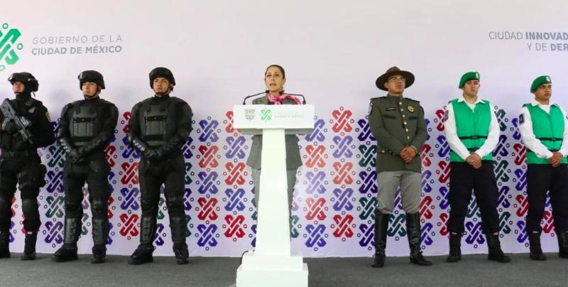Nuevos policías para la CDMX