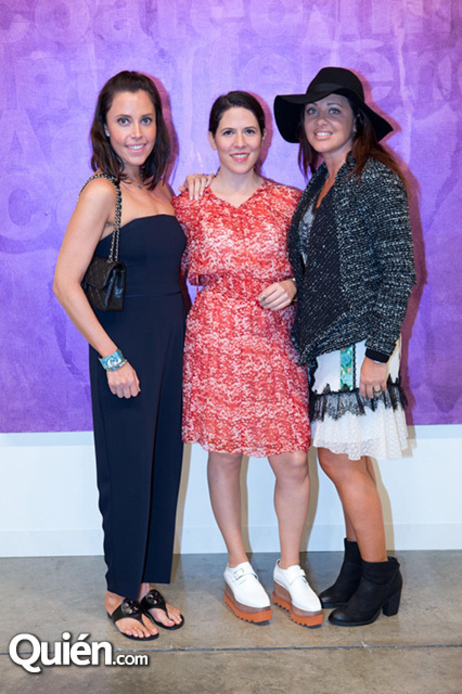 Tania García Ugarctechea,Liz Galván,Olga Hanono