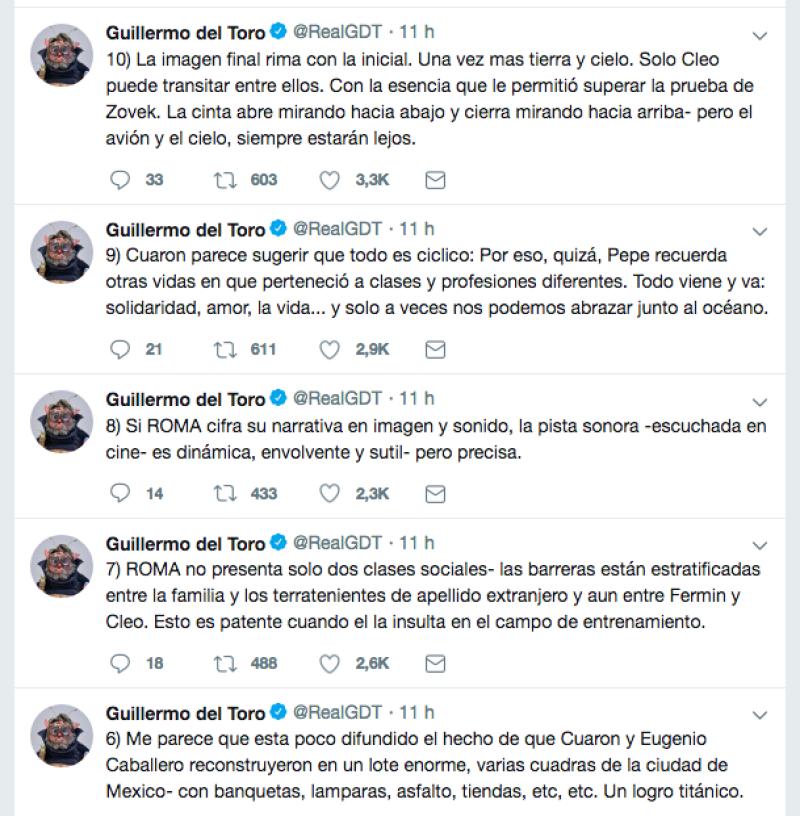 Tweets Del Toro