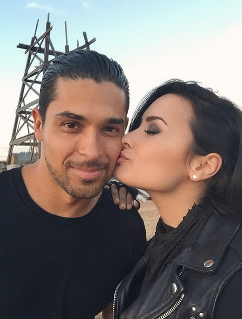 Demi compartió que, cuando comenzó su relación con Wilmer, a sus padres les preocuba los 12 años de diferencia que se llevan en edad.