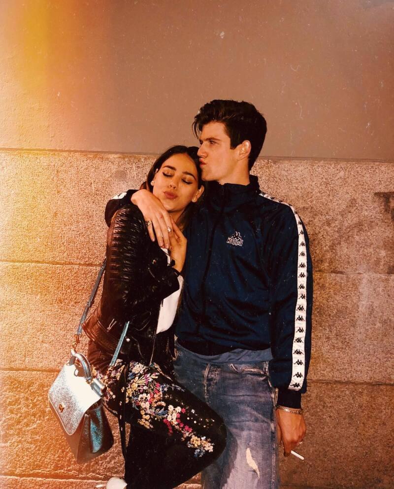 Danna Paola y Miguel Bernardeau