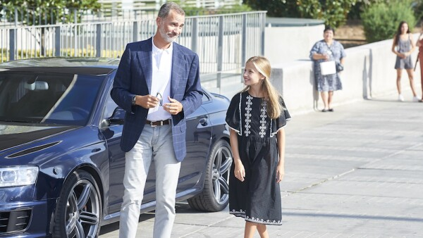 Spanish Royals Visit King Juan Carlos At Quiron Hospital