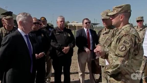 ¿Cuál es la labor de los soldados de EU enviados a la frontera con México?