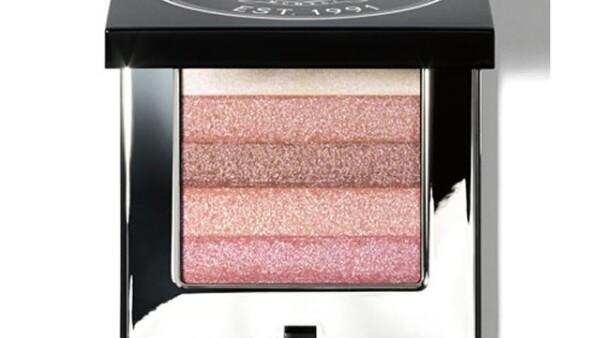 Bobbi Brown: Shimmer Brick, Pink: Edición limitada que ilumina de manera ligera ojos y pómulos para un rostro natural y radiante. 800 pesos.