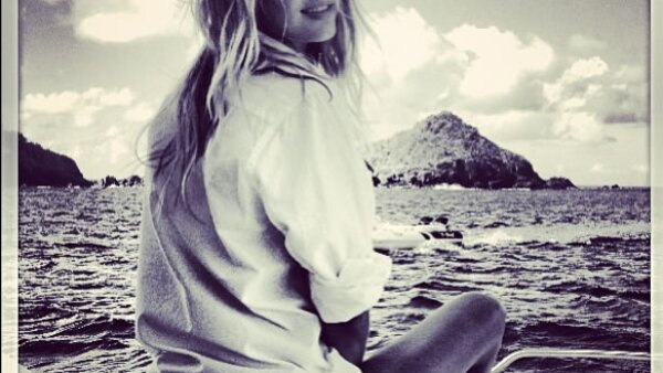 El día de hoy Candice impactó a sus seguidores con esta imagen, que fue captada durante uno de sus shootings.
