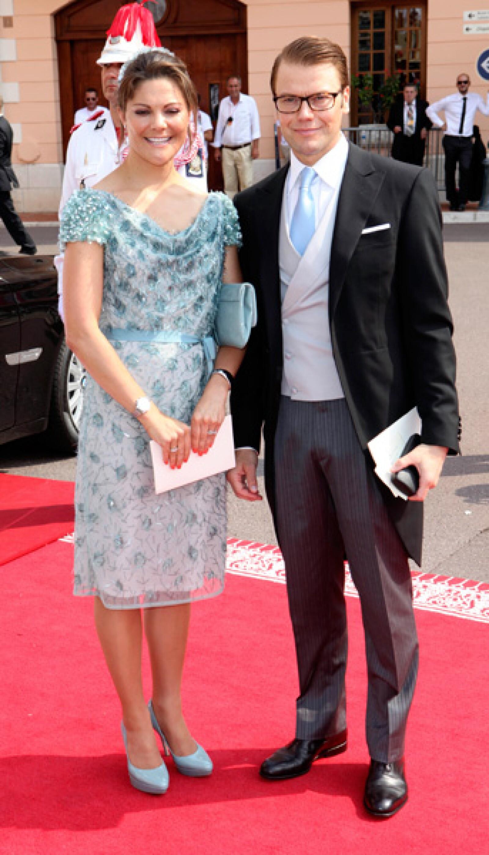 La princesa Victoria de Suecia y su esposo Daniel.
