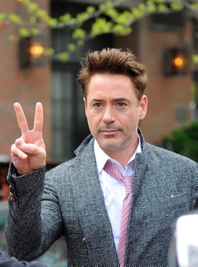 """El intérprete de """"Iron Man"""" logró destronar a Channing Tatum, quien ahora ocupa la segunda posición. Rob logró ganar 75 millones de dólares en el último año."""