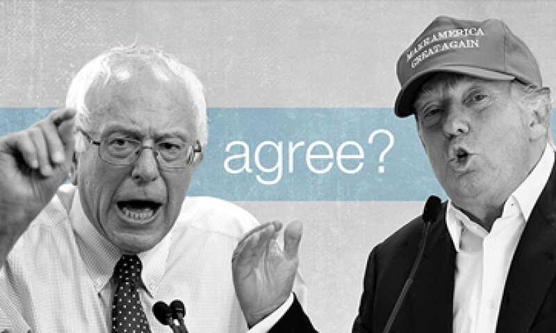 A muchos votantes les convence el discurso de Trump y Sanders por el empleo. (Foto: Especial)