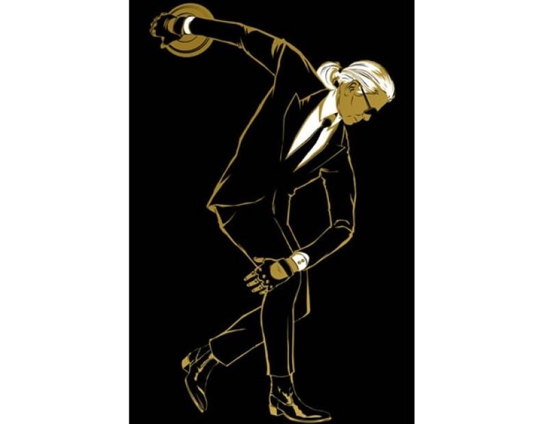 El director creativo de Chanel prepara una colección especial pensada a partir de los juegos de Londres 2012, la cual se venderá en exclusiva en la tienda Selfridges.