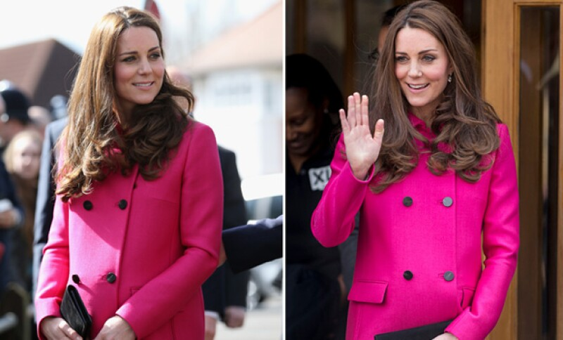 Previo a unas semanas de que nazca su segundo bebé, la duquesa de Cambridge asiste a su último evento formal.