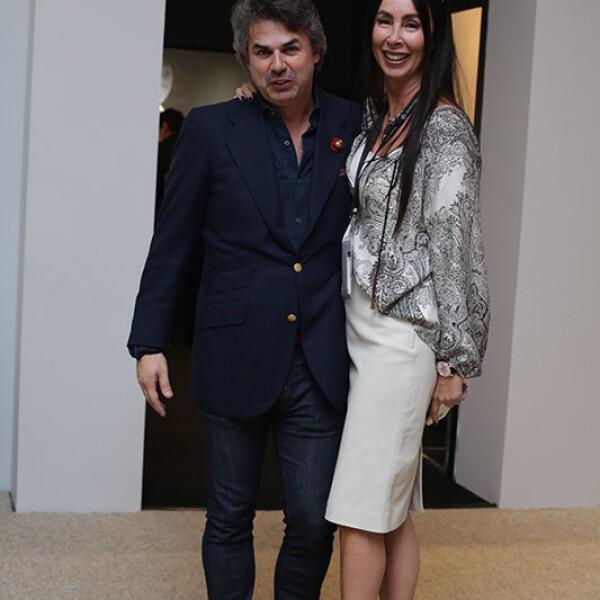 Franc Vila y Lisa Delane