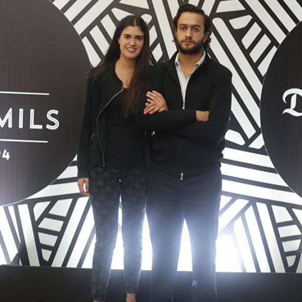 Fernanda Gómez y Daniel Salín