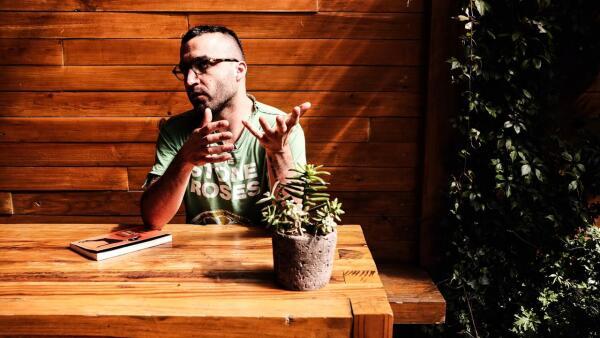 Eduardo Rabasa, con libro