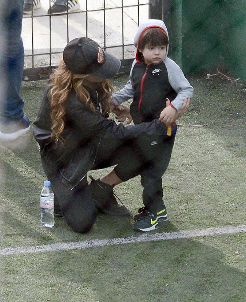 Milan sigue los pasos de su papá.