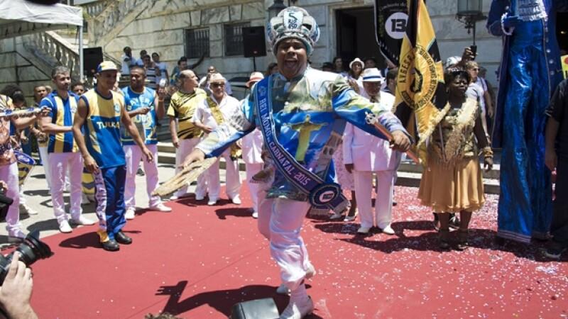 rey del carnaval brasil 2014 Wilson Dias da Costa Neto