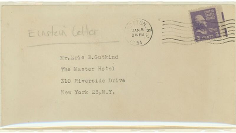 carta sobre dios einstein