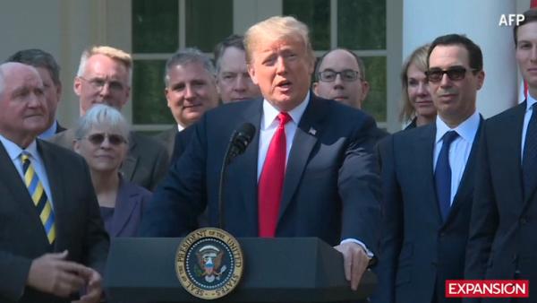 Trump opina sobre el nuevo acuerdo USMCA