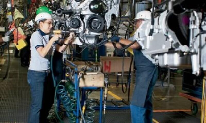 En la planta de Silao de GM se fabrican las pick-ups Silverado y Cheyenne, que junto con Chevy y Aveo aportan cerca de 70% de las ventas a flotillas. (Foto: Ramón Sánchez Belmont)