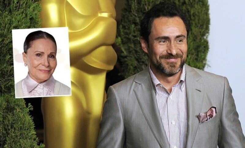 Maricruz Nájera acompañará a su hijo este domingo a la gala de la 84 Entrega de los premios de La Academia, en la que el menor de los Bichir está nominado como Mejor Actor.