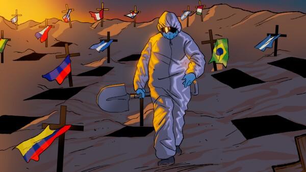 Los sistemas de salud de toda la región han reconocido que sus naciones tienen más enfermos y fallecidos de los que han sido capaces de identificar.