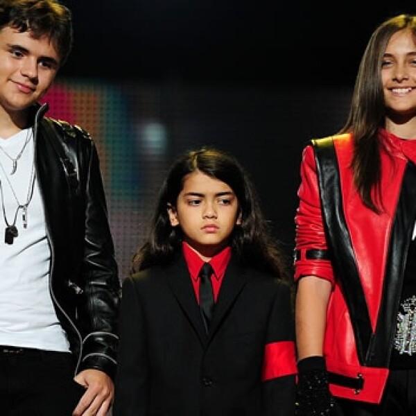 Michael Jackson Concierto Gales Hijos