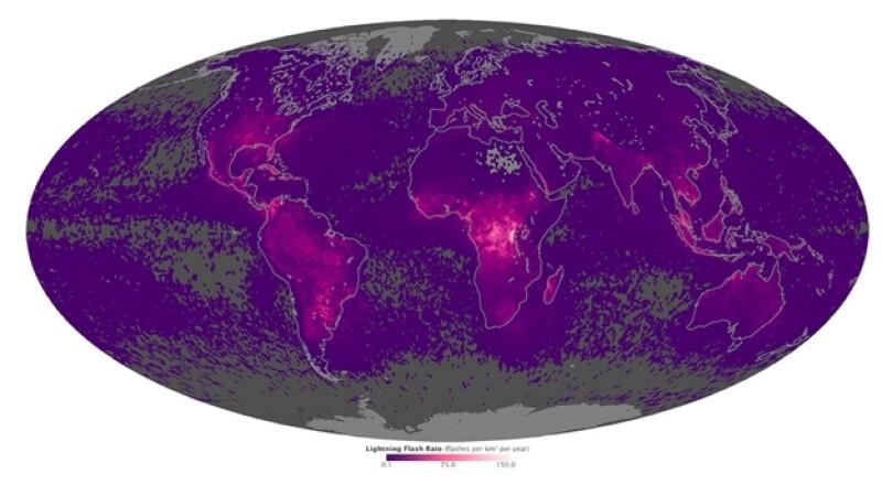 mapa rayo