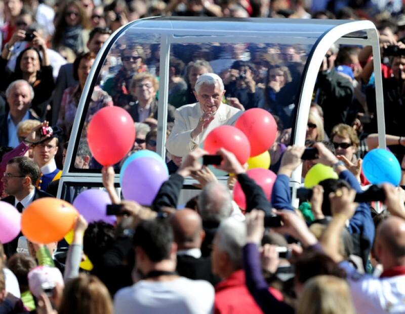 Durante su visita, se espera que un millon de fieles acudan a presenciar sus recorridos por este estado de nuestro país.