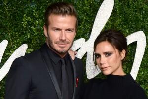 David Beckham y Victoria Adams