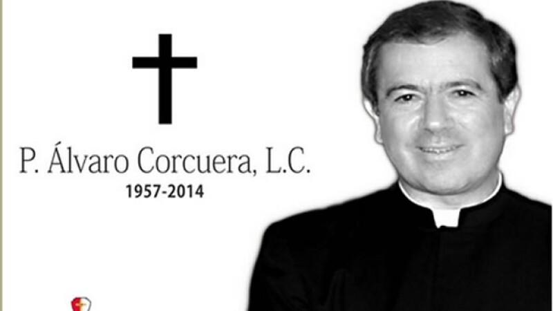 El padre Álvaro Corcuera Martínez del Río falleció este lunes en la Ciudad de México