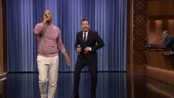 Will Smith y Jimmy Fallon