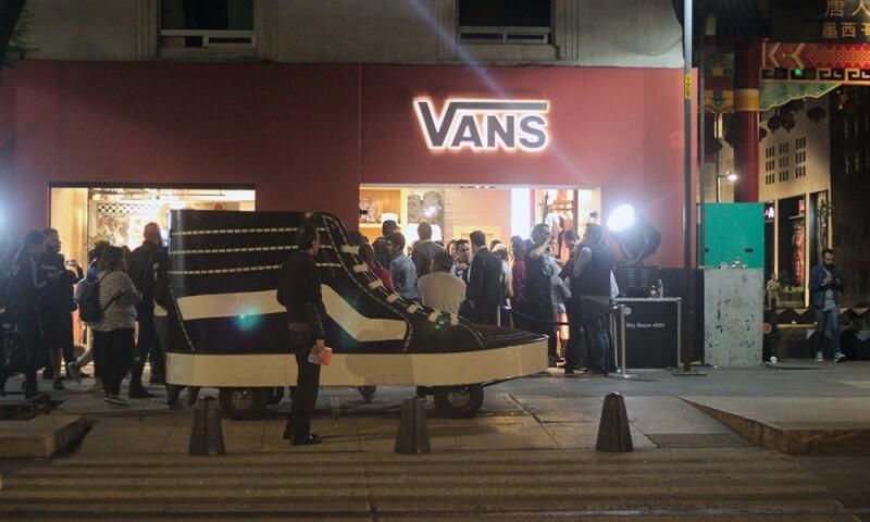 Vans Flagship store CDMX