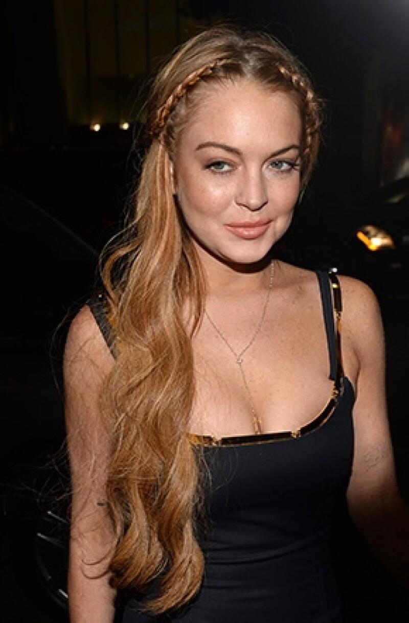 """La actriz no llegó al Festival de Cine de Venecia, donde se esperaba que promoviera su cinta erótica y de suspenso """"The Canyons""""."""
