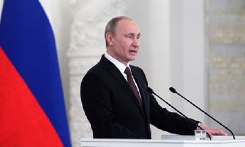 El líder de Rusia, Vladímir Putin, anunció oficialmente la anexión de Crimea este martes. (Foto: Getty Images)