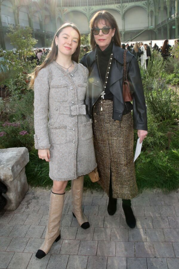Chanel: Front Row - Paris Fashion Week - Haute Couture Spring/Summer 2020