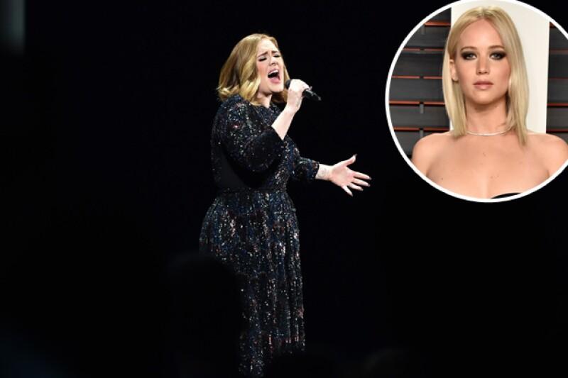 Fue durante un concierto de Adele donde Jennifer vomitara por todo el alcohol que bebió, e incluso rompiera un candelabro.