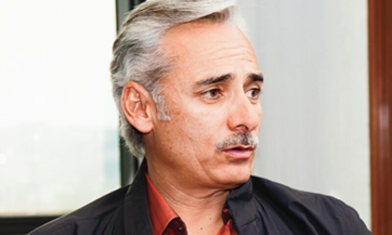 Jesús Martínez, presidente de Grupo Pachuca. (Foto: Agustín Garza)