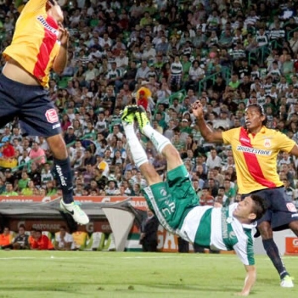 Santos vs Morelia1