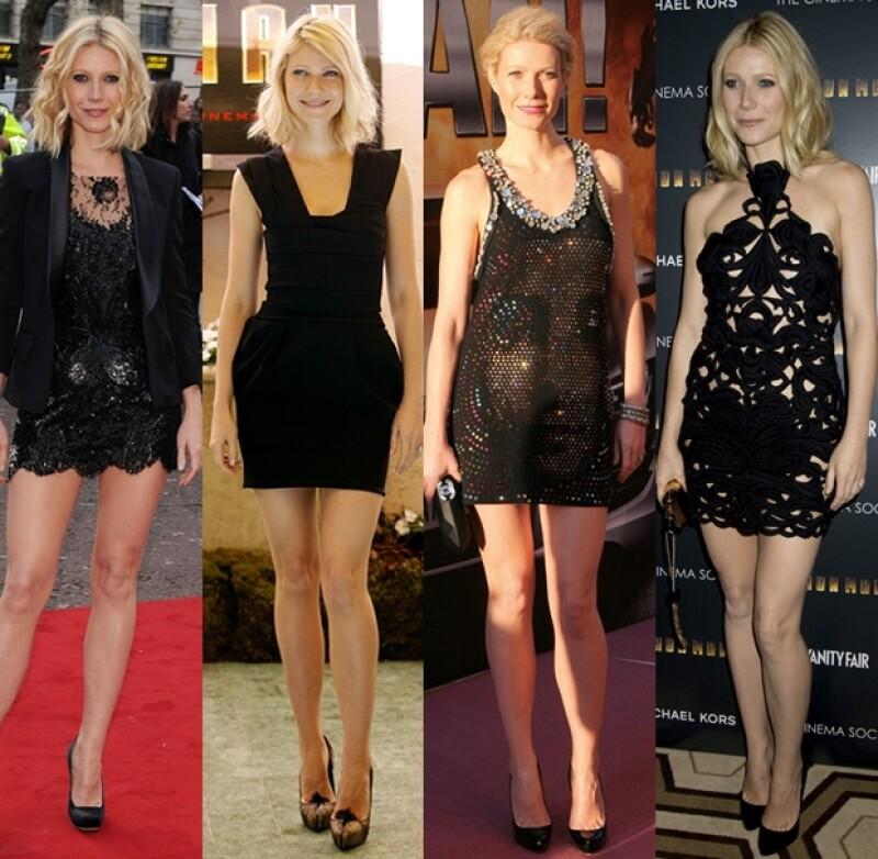 Hace un par de años, la actriz tuvo una fase de mini vestidos.